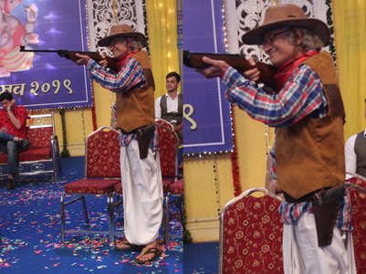 Taarak Mehta's Bapuji sports the cowboy look