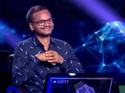 KBC 11: Contestant Sanoj Raj wins 1 crore