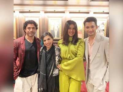 Priyanka, Farhan at TIFF for 'The Sky Is Pink'