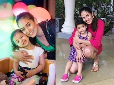 Mira Rajput and daughter Misha's cute moments