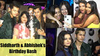 Jannat Zubair, Avneet Kaur, Reem and others attend Siddharth Nigam and his brother's birthday bash