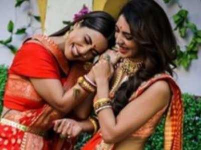 NB: Hina wishes luck to Pooja Banerjee