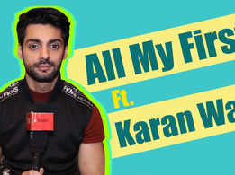 All My Firsts ft. Karan Wahi |Nach Baliye 9| |Exclusive|