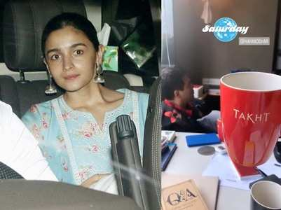 Alia shares the glimpse of her prep for Takht