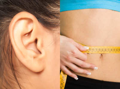 Acupressure point near your ears to lose weight