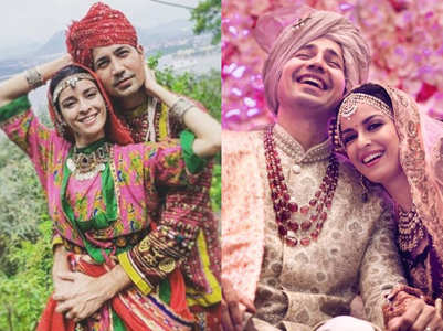 Ekta, Sumeet celebrate first wedding anniv.