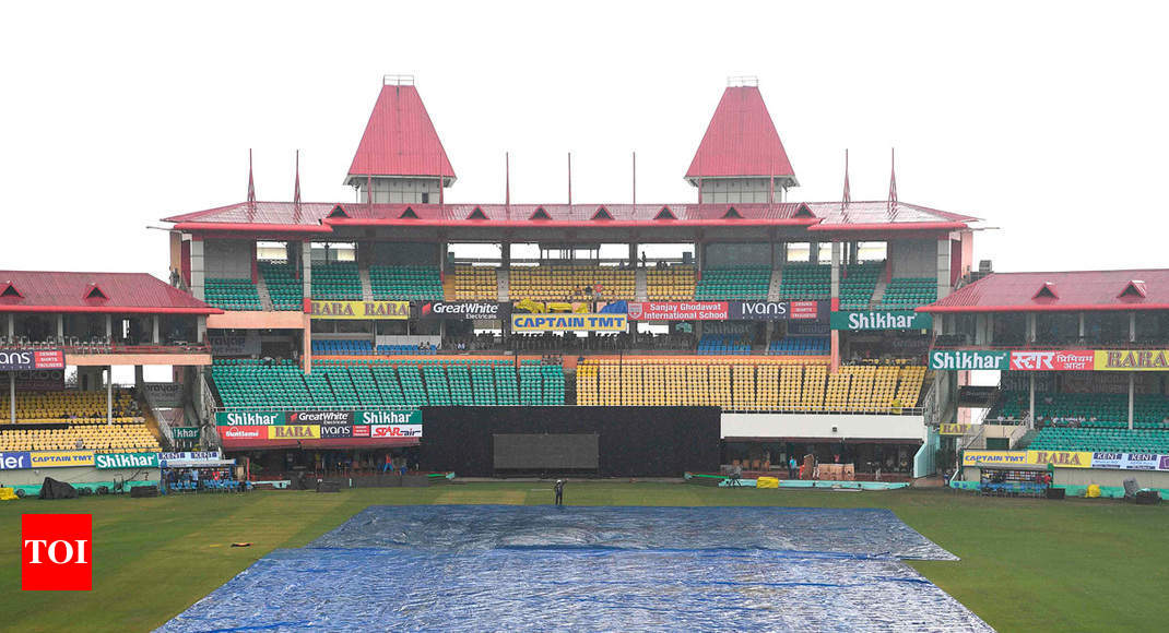 India vs South Africa: Downpour in Dharamsala ahead of first T20I