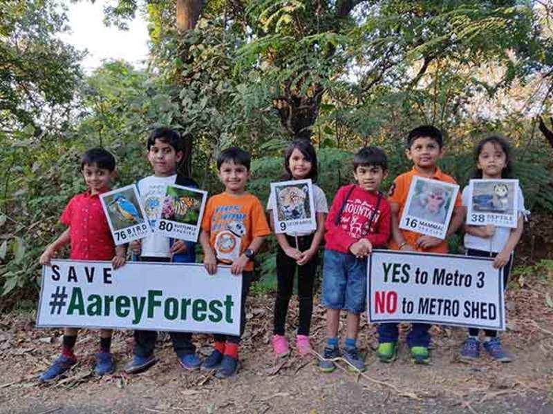 Mumbai's kids take up the cause to save Aarey