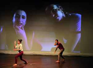 A dance show that beat time zones through technology