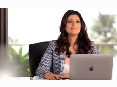 Twinkle announces new venture on son's B'day
