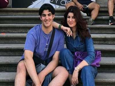 Twinkle Khanna shares a quirky birthday wish for son Aarav