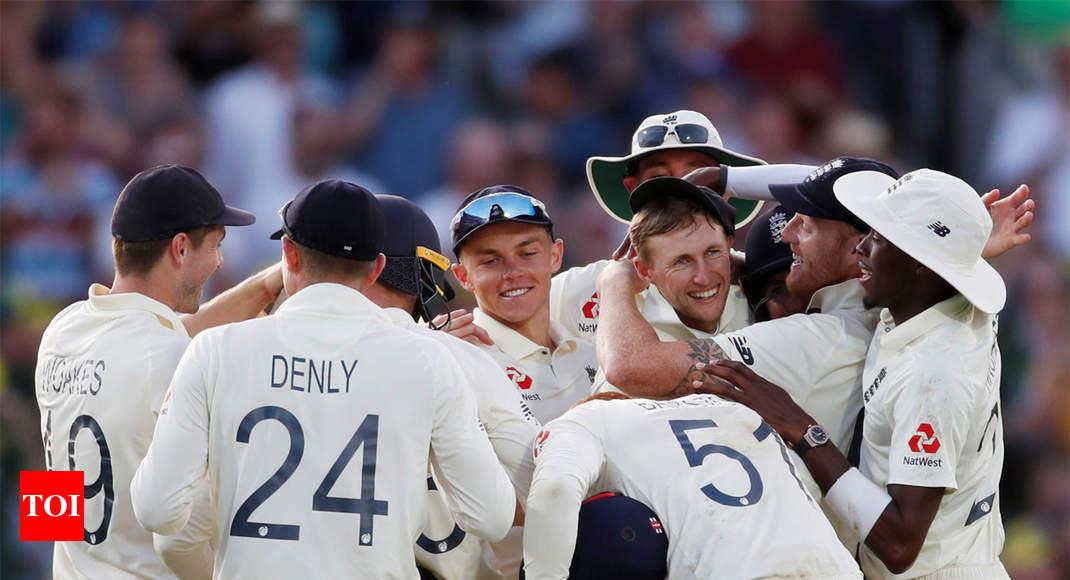 5-й тест на пепел: Англия победила Австралию на 135 серий в серии Крикет Новости