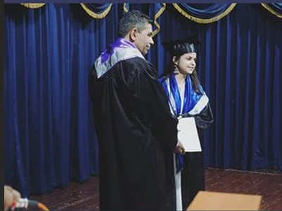 Taarak's Palak aka Sonu is a graduate now