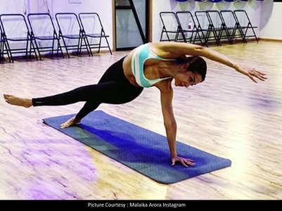 Photo: Malaika talks about the miracle asana