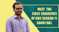 Exclusive - My father will decide what is to be done with this money, says KBC 11's first crorepati Sanoj Raj