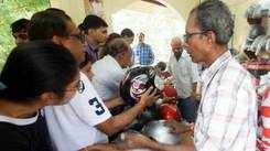 Amdavadis shell out more on helmets to avoid hefty fines