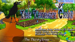 Children English Nursery Story 'Moral Story | The Thirsty Crow' - Kids Nursery Stories In English