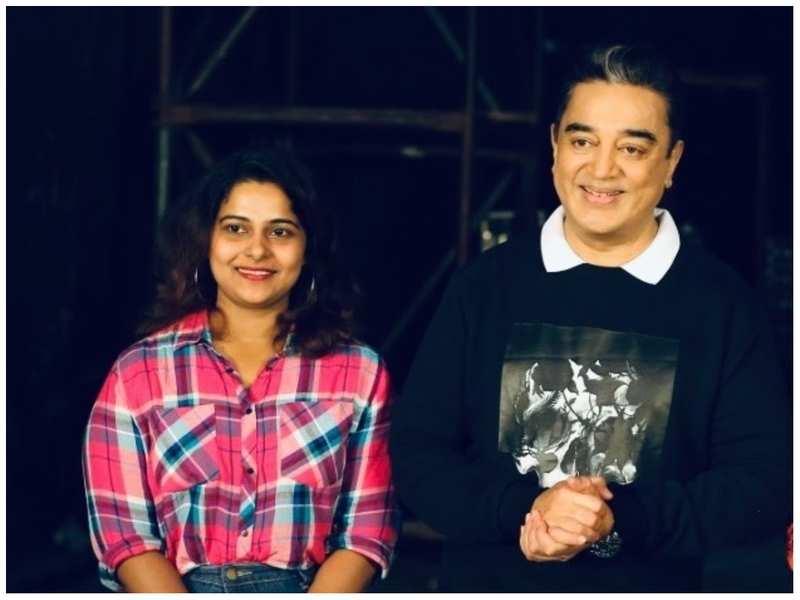 Fara Shibla shares a fangirl moment with Kamal Haasan
