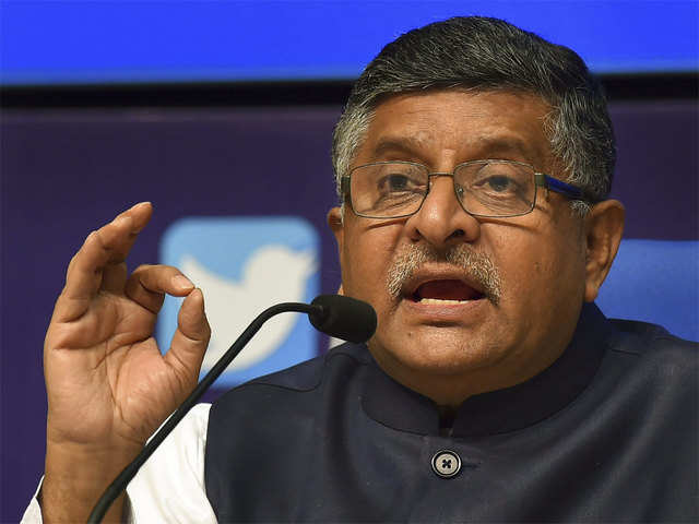 IT minister Ravi Shankar Prasad urges electronics, mobile companies to step up manufacturing, export from India