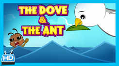 Children Hindi Nursery Story 'Tales of Panchatantra | The Ant & The Dove' - Kids Nursery Story In Hindi