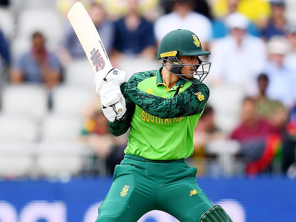 Not sure how captaincy will affect me as a cricketer: Quinton de Kock |  Cricket News - Times of India