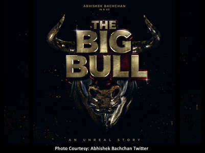 Abhishek shares 1st poster of 'The Big Bull'