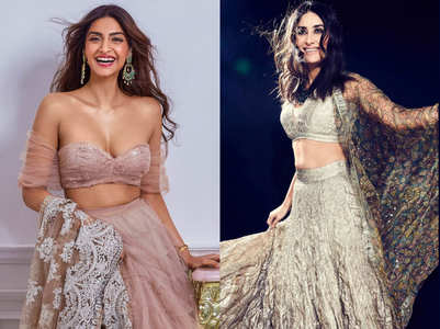 The most stylish lehengas worn by Bollywood stars