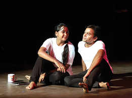 When poems got enacted on stage in Lucknow