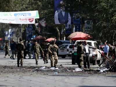अफगानिस्तान के राष्ट्रपति की रैली में बम धमाका