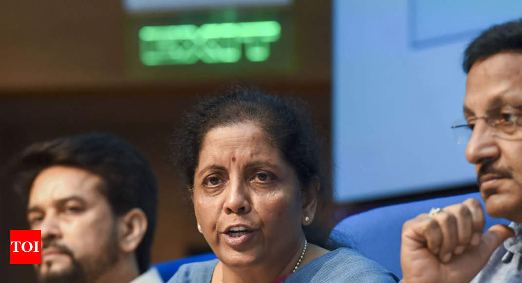 Government mulling another booster dose to reinvigorate economy - Times of India
