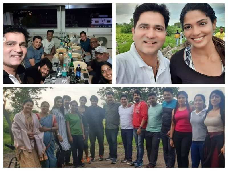 Sushant Shelar shares BTS pictures from the set of 'Vijeta'