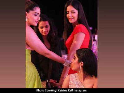 Sonam reacts to Katrina-Janhvi controversy