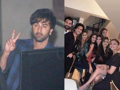 Pics: Ranbir joins Alia at her BFF's bday bash