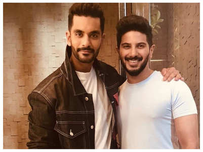 Angad on bonding with Dulquer Salmaan