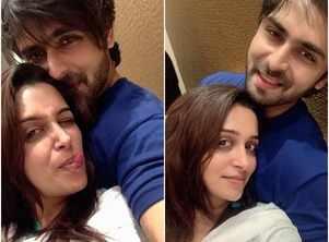 Dipika's romantic moments with hubby Shoaib
