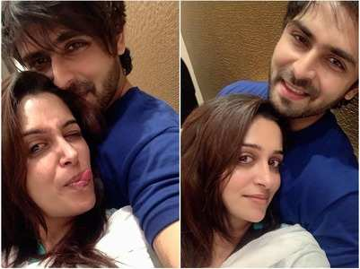 Dipika's romantic moments with Shoaib
