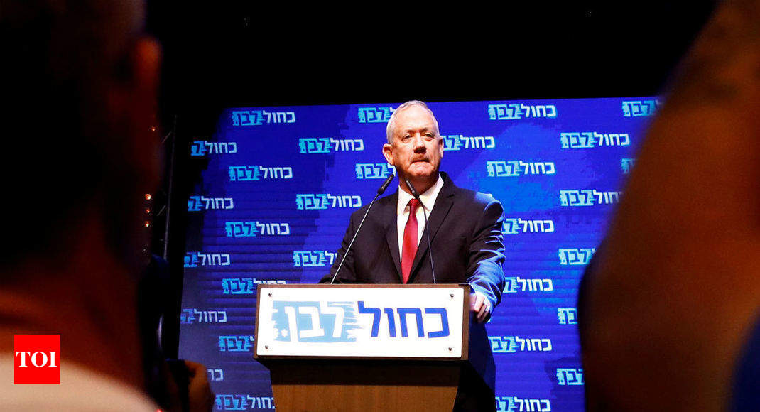 Ready to 'speak with everyone' about govt formation: Israel's Blue and White chief