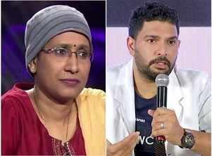 KBC: Yuvraj Singh salutes Aarti Kumari's spirit