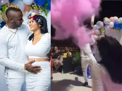 Watch: Andre Russell's coolest birth announcement