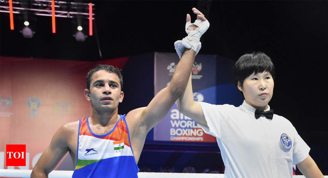 World Boxing Championships: Amit Panghal, Manish Kaushik enter semis; India assured of unprecedented two medals