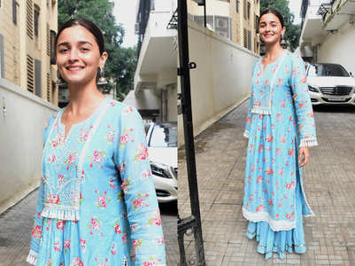 Alia Bhatt shows three stylish ways to wear a kurta
