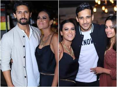 Celebs attend Nia Sharma's birthday bash