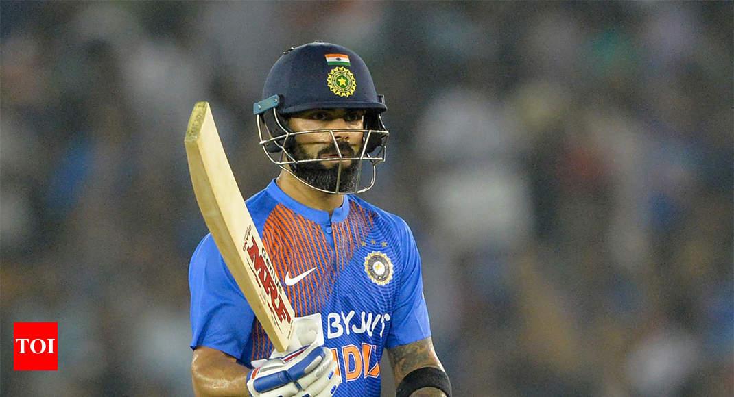 Virat Kohli surpasses Rohit Sharma to become leading T20I run scorer