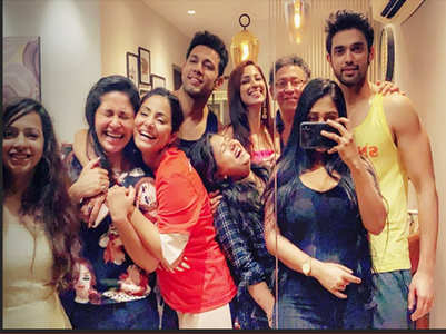 Kasautii gang at Parth's housewarming bash