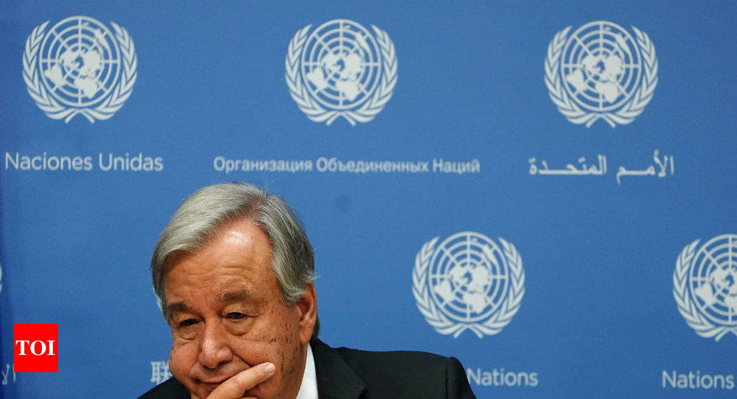 UN chief rejects claim he didn't condemn China over Muslims