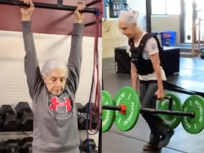This 72-year old woman's gym regime will put your workout to shame!