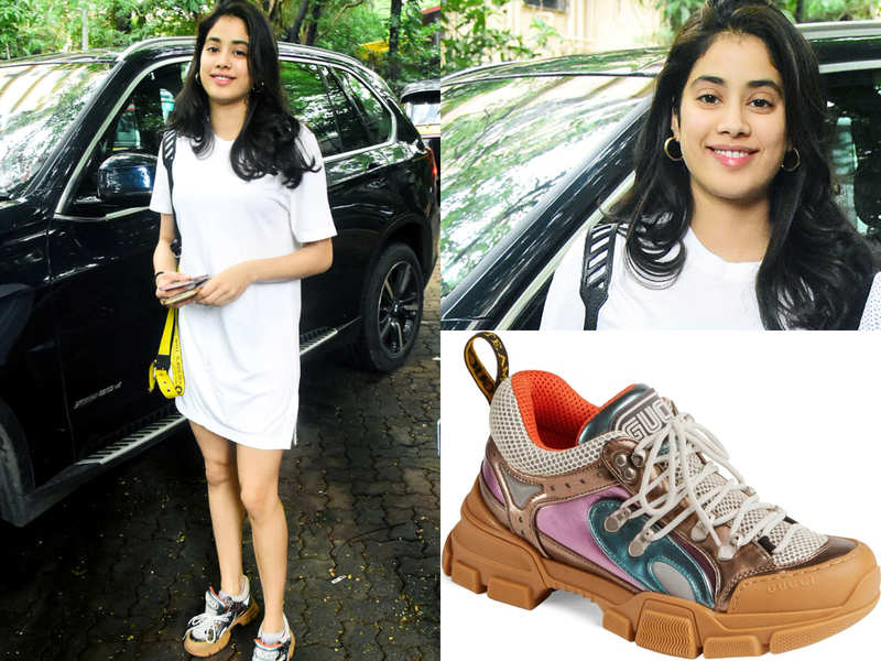 You will be shocked to know the price of Janhvi Kapoor's ugly 'dad sneakers'