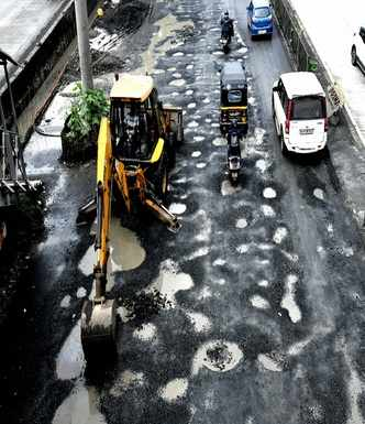 Mumbaikars, here is BMC's 'hole'-some solution to fix potholes