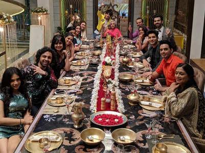 KHKT: Sippys and Rastogis dine together