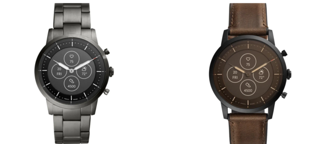 This may be the first hybrid smartwatch to use technology Google bought for $40 million